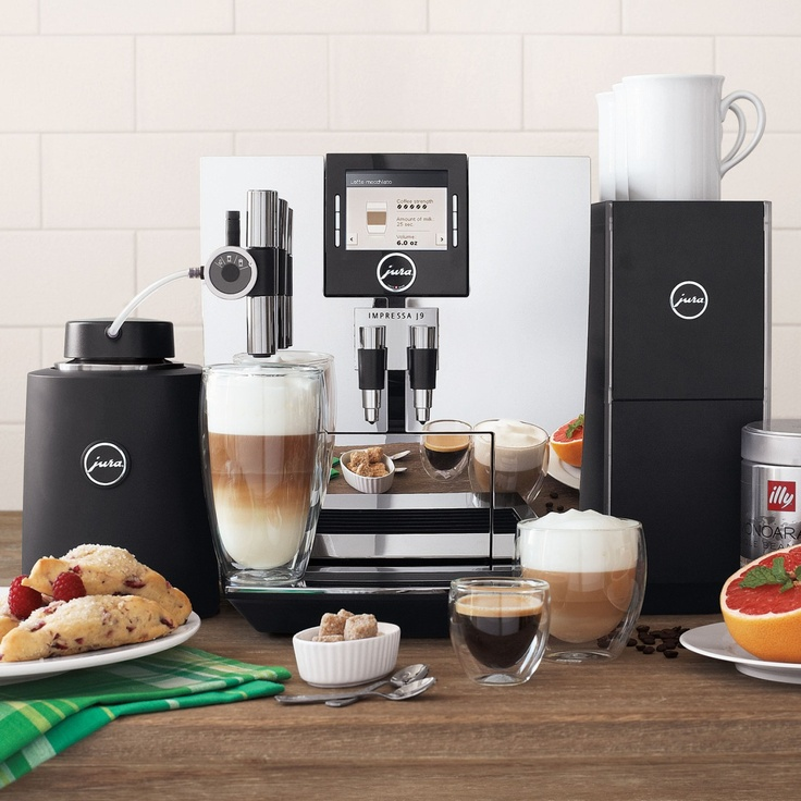 Designer Appliances For The Modern Home - Jura Impressa J9 TFT One Touch Espresso Machine