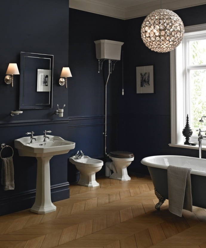 How To Enhance The Style Of Your Home -  Edwardian Bathroom With Porcelain Cistern