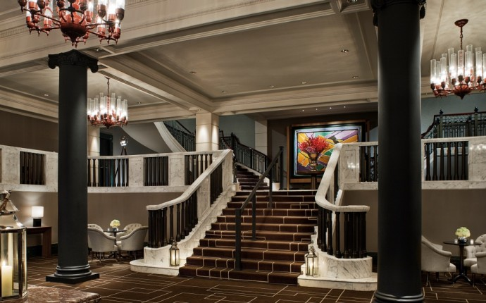 Living in Edwardian Luxury with Rosewood London - Ballroom Lobby