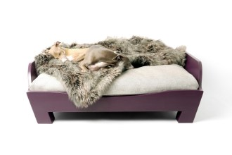 7 Designer Dog Beds For The Modern Home - Charley Chau Raised Wooden Dog Bed