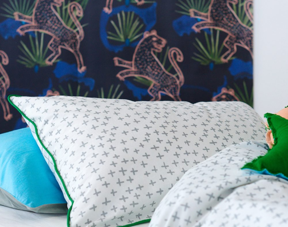 Decorating a small room with prints and patterns