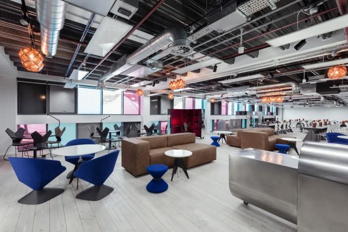 Tom Dixon Atrium offices in London