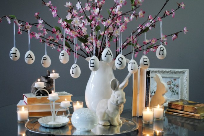 Luxury Easter: How to decorate your home for the season - Image From theadventuresoflesalina.com