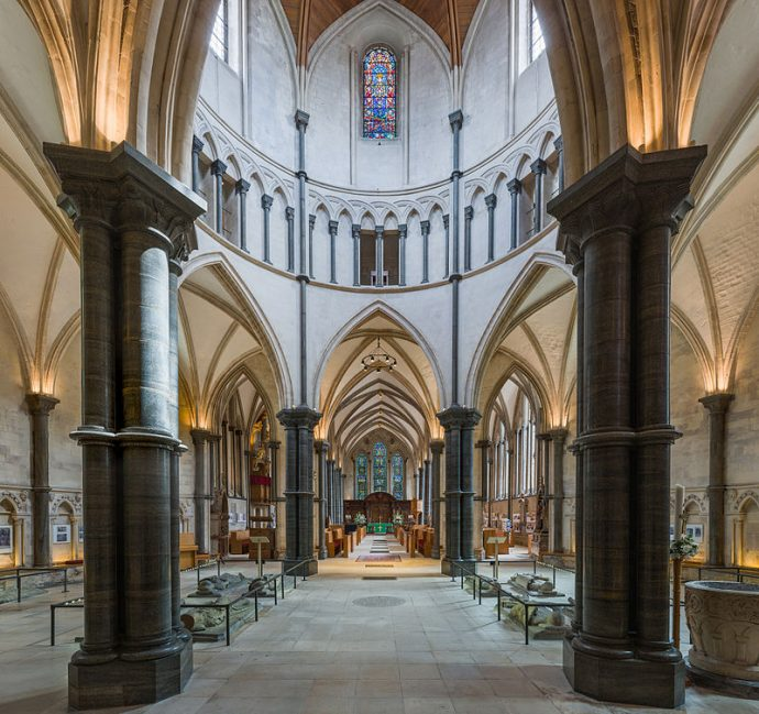 London's historical pubs, churches and landmark buildings - Temple Church London