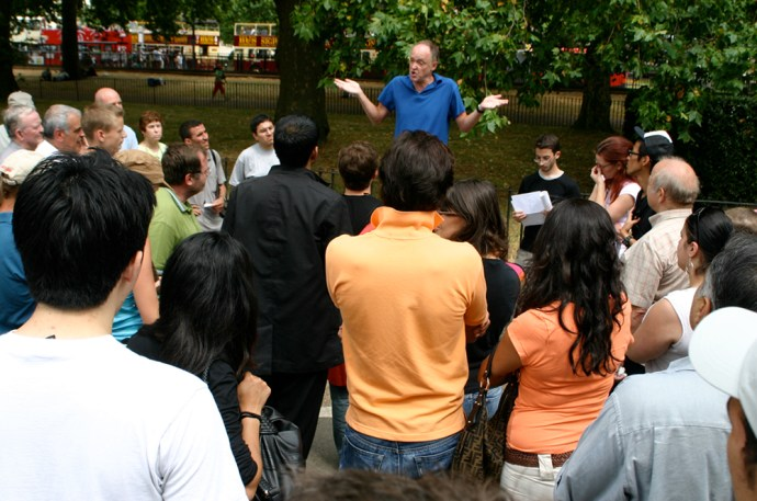 Eight amazing things to do in Chelsea - Speakers Corner