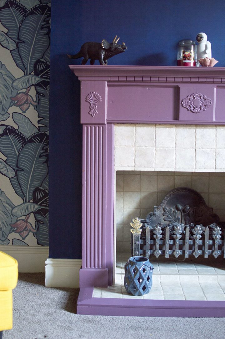 painting your fireplace