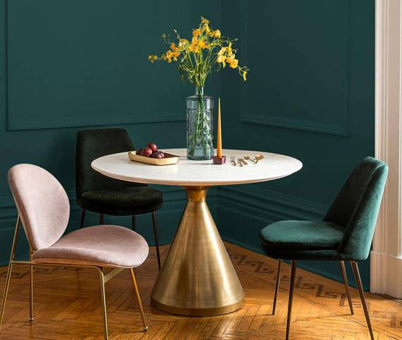 Interior Design Trends 2019 - Night Watch Green - Colour Of 2019 ppgpaints.com Colour Of The Year.
