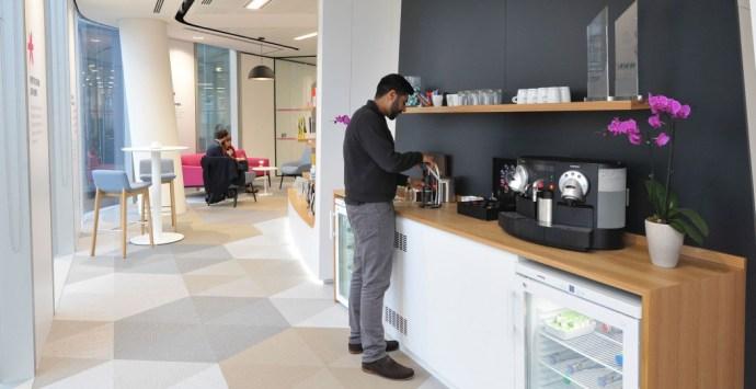 Walls Of wellbeing: Calm Contemporary Office Decor - Image Via maris-interiors.co.uk - Redington Office