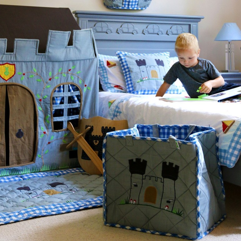 Create A Fairytale-Themed Bedroom For Your Child - Castle Playhouse From Cukooland.com