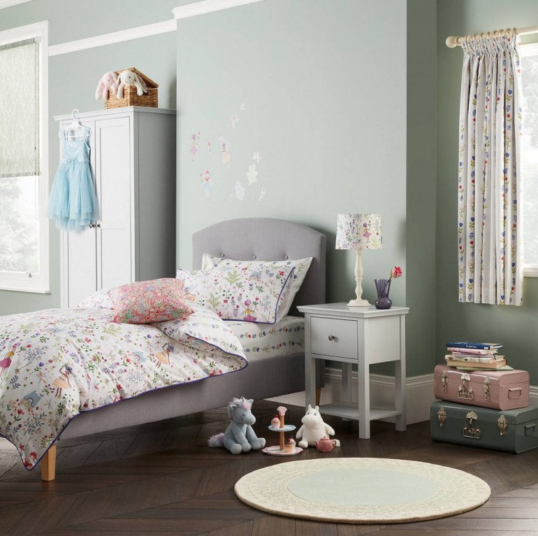 Create A Fairytale-Themed Bedroom For Your Child - Little Home At John Lewis Country Fairies Duvet Cover And Pillowcase Set