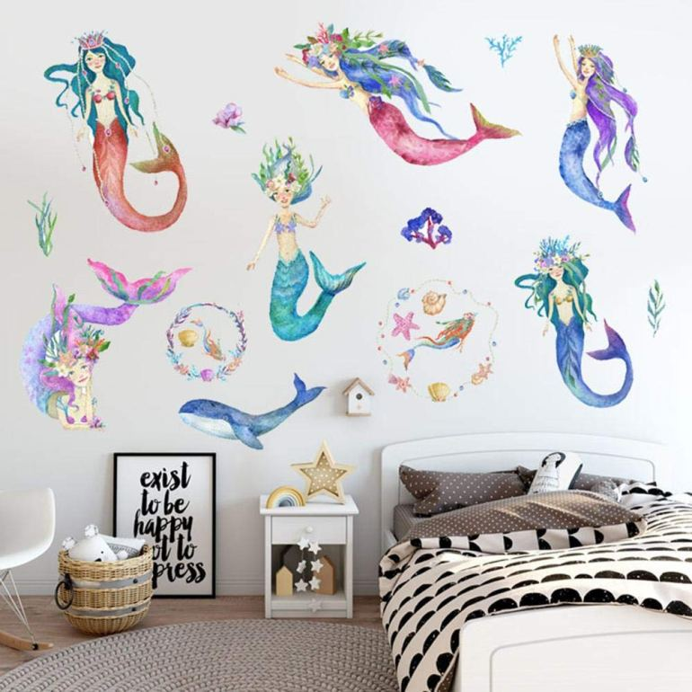 Mermaid Wall Stickers By Myonly (Available From Amazon)