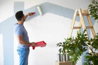 DIY Man Painting