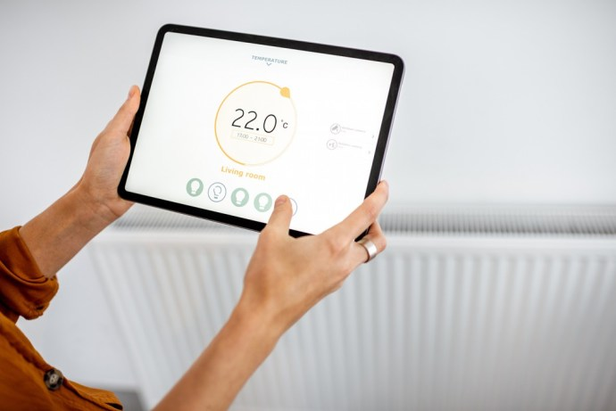 Radiator controled by heating app