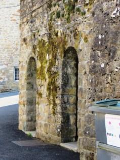 Correze town walls