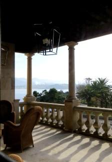 The balcony of the Parador