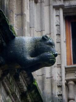 Gargoyle in Patio of San Marcos