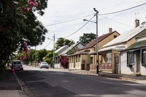 Quiet street in Oudtshoorn