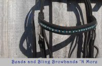 beads and bling browbands
