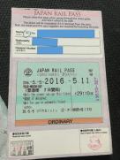 JR Pass - Back