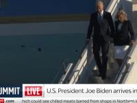 Joe Biden a sosit în Regatul Unit