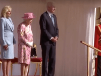 Joe Biden a fost primit de regina Elizabeth a II-a la Castelul Windsor