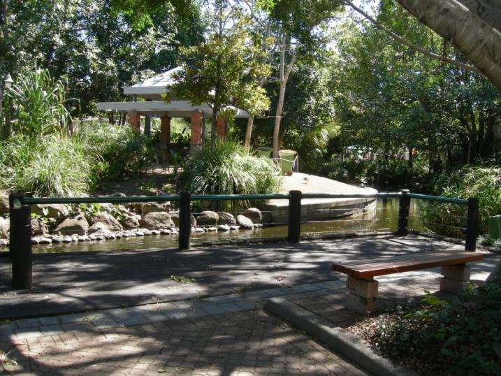 Southbank Parklands - Beautiful Stream Scene
