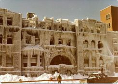 YMCA after the fire - Jan 4, 1981 source - Bob Neilly