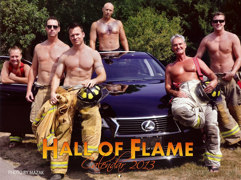 2013 Hall of Flame Calendar