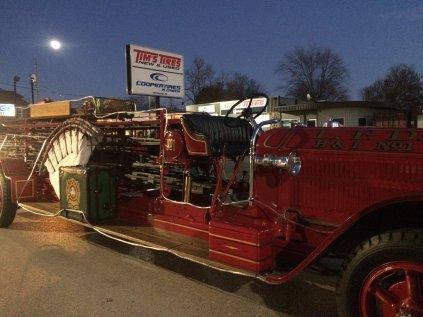 LPFFA 1927 LaFrance Firetruck