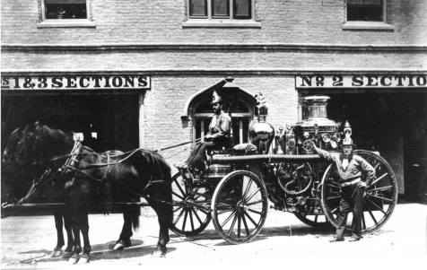 The old Central Fire Hall on King St, between Richmond & Clarence