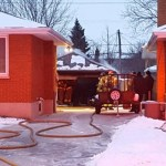 Fire guts garage in southeast