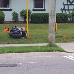 Teen dies after motorcycle hits hydro pole