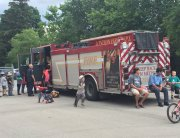 Fire Truck visits School