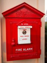 Old Fashioned Alarm Box