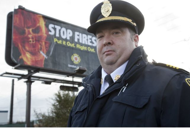 Assistant deputy fire chief Jack Burt