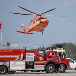 Ornge and London fire