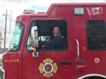@MayorMattBrown Oct 29, 2017 - Huge thanks to the firefighters who showed me just a sample of what they do every day & how they train for large emergencies. cc: @LPFFA