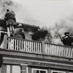 Roaring House Fire