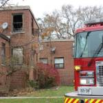 One person hospitalized after fire at supportive housing facility