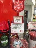 Kyle Kieraszewicz @KKylekier Dec 13 Salvation Army Kettle Day! Thank to all who have donated! #givinghopetoday #SalvationArmy #LDNont @LPFFA @TSALondon