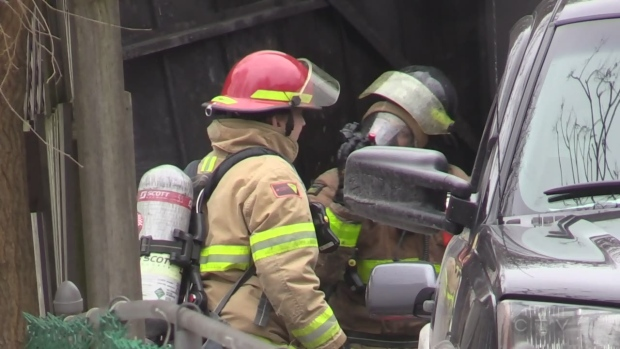 Garage fire uncovers drug lab on Ontario Street