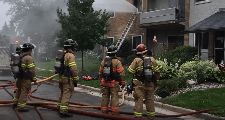 Westmount apartment fire in London