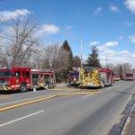 Multiple Alarm House Fire