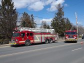 Vehicles involved in house fire at 458 Commissioners Rd. E on April 1, 2019