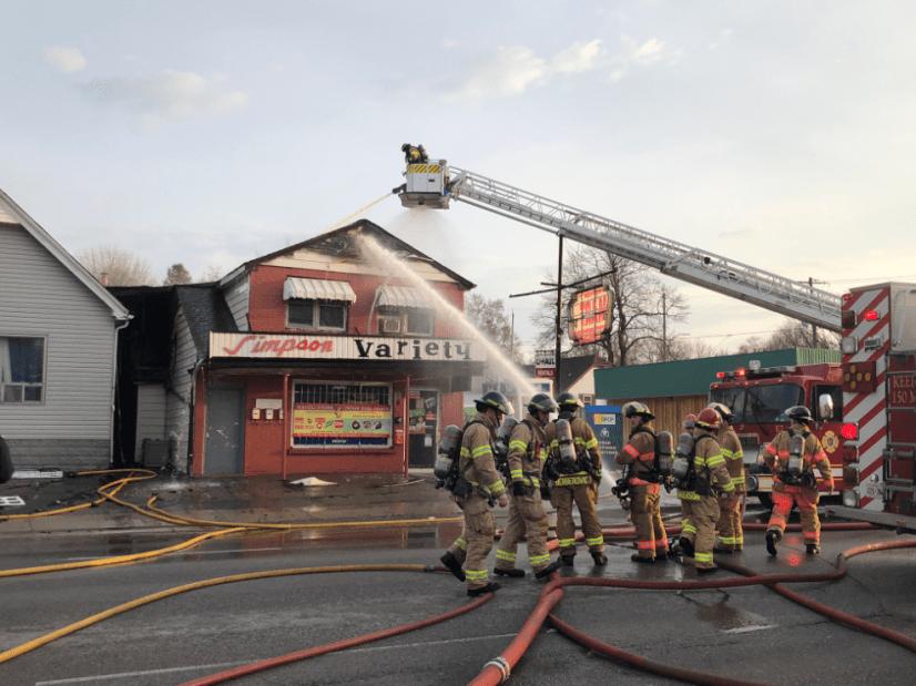 Oxford Street Fire