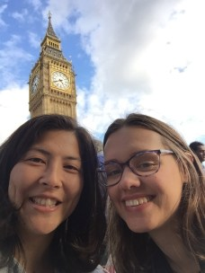 We asked a man to take our photo, and he proceeded to instruct us on the best way to take a selfie with Big Ben, rather than actually take our picture.