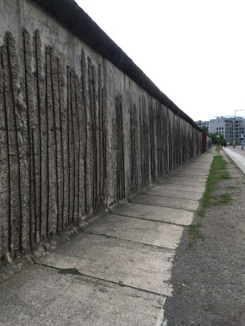 Berlin Wall Memorial captured from a different angle