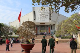 Entrance to the Ho Chi Minh museum.