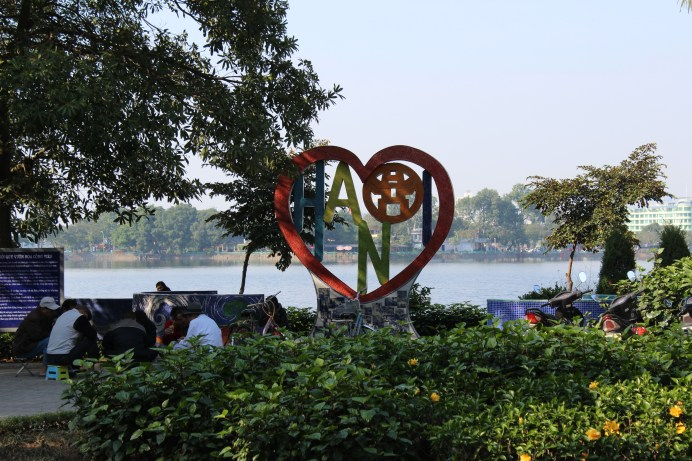 My heart is in Hanoi!