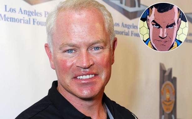 Neal McDonough is cashed as Damien Darhk in Arrow season 4.